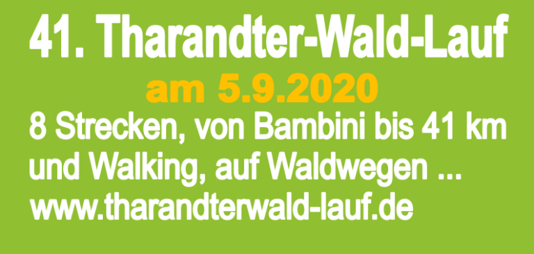 41. Tharandter-Wald-Lauf